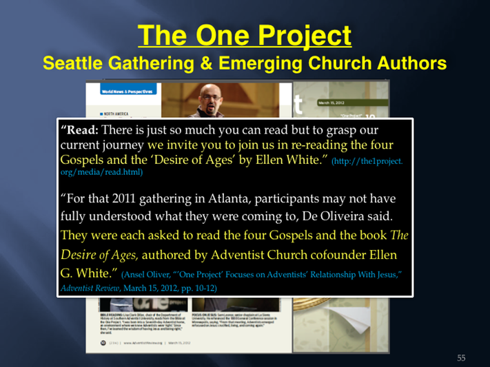 10 The Emerging Church and The One Project - Part 10